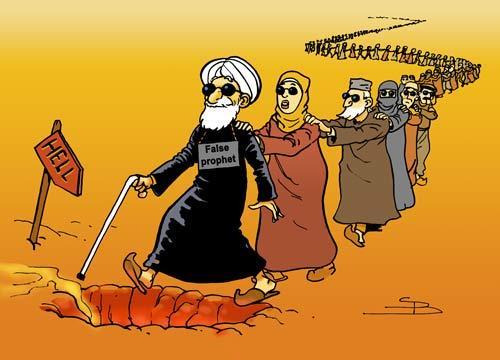seguir un falso profeta es el camino al infierno