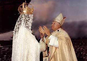 El Papa rinde culto a la reina del cielo, Astarte