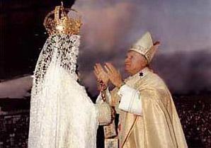 El Papa rinde culto a la reina del cielo, Astarte
