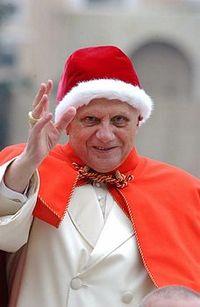 Benedicto XVI es gloria del olivo